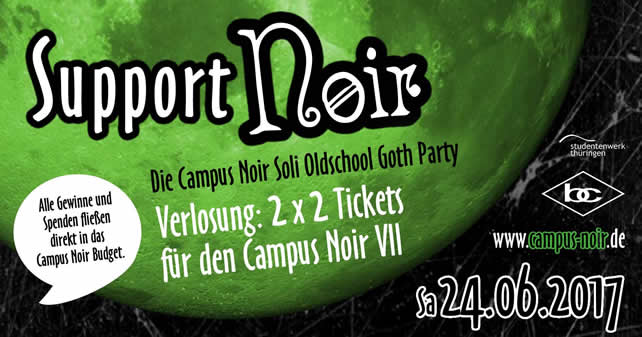 Campus Noir Soli Oldschool Goth Party 2017